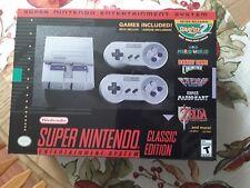 Super Nintendo Entertainment System SNES Mini-  Mod 326 games