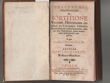 1692. DIVINAZIONI – SORTILEGI – ASTROLOGIA...