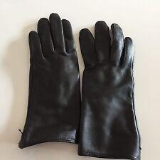 ROECKL Lederhandschuhe Damen Gr. 7 echtes Leder NEU Braun Dunkelbraun