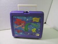 Walt Disney's The Little Mermaid Lunch Box And Thermos  t3771