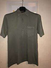 Mens Small Gabicci Polo Shirt Olive / Green