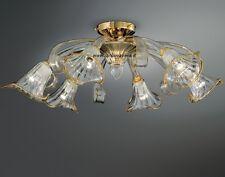 Plafoniere Vetro Murano Prezzi : Vortice plafoniera in vetro curvo tre dimensioni