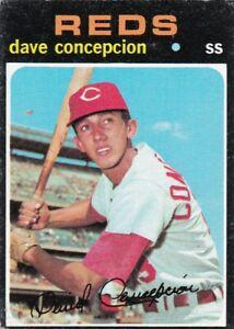 1971 TOPPS #-14 DAVE CONCEPCION==CINCINNATI REDS