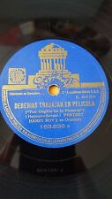 JAZZ 78 rpm RECORD Odeon HARRY ROY Orquesta DEBERIAS TRABAJAR EN PELICULA /...