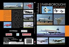 FARNBOROUGH PAST AND PRESENT Airshow DVD Video-New & Fast Ship