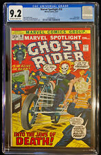 1973 Marvel Spotlight #10 CGC 9.2 Off White to White Pages Ghost Rider