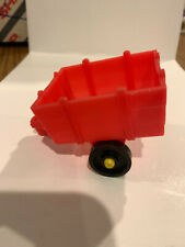 Vintage Little People Hay Wagon - Red
