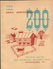 Intercourse, Pennsylvania  1954  200th Anniversary  Souvenir Book  192 PAGES