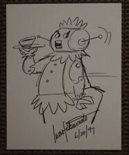Rosie The Jetsons Original Drawing Signed Iwao Takamoto 1997 Art Artwork