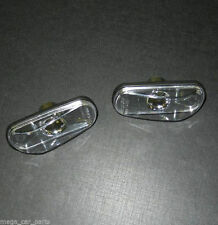 SAAB 9-3 9-5 900 9000 NEW Side Wing Indicators Repeaters Lens Lamp Light - CLEAR