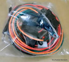 Dual Electric Fan Wiring Harness, w/Relay Module & Fuse Link,