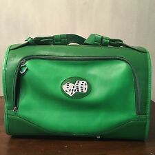 PetFlys Green Tumbling Dice Pet Carrier Airline Approved Dog Cat Travel Tote Bag