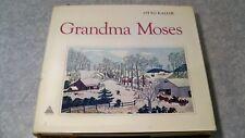 1973 The Art of Grandma Moses by  Otto Kallir Large Coffee Table Art Book w/ DJ