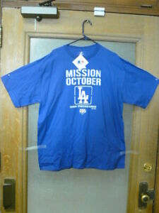 2009 LA MISSION OCTOBER WORLD SERIES BLUE XL SHIRT , 1-DAY CONFIRMED SHIP