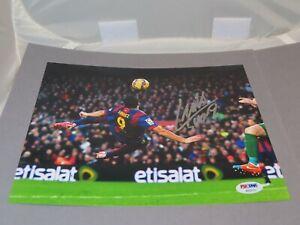Luis Suarez Signed FC Barcelona 8x10 Photo Autographed Soccer PSA/DNA COA 1G