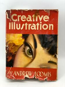 1947 Creative Illustration Drawing Andrew Loomis Book How To Instruction Manual