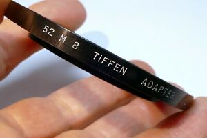 Tiffen 52mm to M8 series VIII Filter Holders Adapter ring threads step up 66.7mm