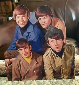 The Monkees Rock & Roll Band Tabletop Standee 8 1/2 Tall