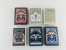 Lot of 6 Decks Bicycle Playing Cards Standard Face Assortment Limited Edition