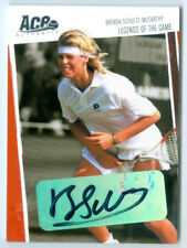 "BRENDA SCHULTZ-MCCARTHY ""LEGENDS OF THE GAME AUTOGRAPH /400"" ACE HEROES LEGENDS"