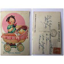 CPA Ancienne Béatrice Mallet Petite Maman 1936 Illustrateur