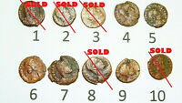 Roman Coin Lovely small follis MIX Uk British 3-4th.AD. Authentic ancient,