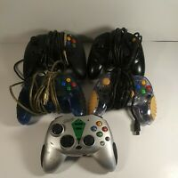 Xbox 360 Controller Lot Of 5 Untested 4 Wired 1wireless