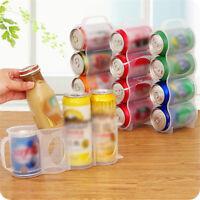 Refrigerator Cola Beverage Can Storage Box Rack Fridge Shelf Kitchen Organizer