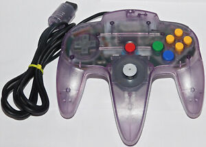 Official Nintendo 64 N64 Atomic Purple Tight Controller Authentic TESTED Games