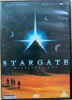Stargate Director's Cut DVD 1994 Sci-Fi Classique Starring Kurt Russell