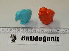 Vintage Blue Mountain Goat & Orange Gorilla Fisher Price Zoo Animal Parts Only