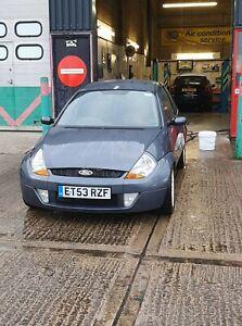Ford ka track car