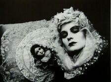 """Irina Ionesco montado Impresión de fotografía 14 X 11"""" 1975 II03 Erotica lesbiana Gótico"""