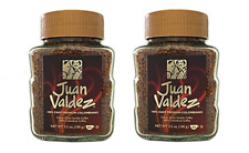 JUAN VALDEZ Soluble 100 gr. 2 PACK (Premium Colombian Coffee Dried Soluble)