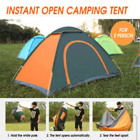 2-3 Person Waterproof Camping Tent Quick Automatic Open Outdoor Portable