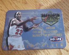 1997-98 NBA HOOPS AIRLINES FREQUENT FLYER MICHAEL JORDAN #4 OF 20 DIE CUT INSERT