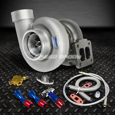 """GT45 800+HP T4/T66 3.5""""V-BAND 1.05 A/R 92 TRIM TURBO CHARGER+OIL FEED+DRAIN LINE"""