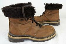C&A Laced Ankle Chunky BOOT 90s   Brown     UK 3.5 /Eu 36       467 W