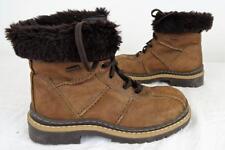 C&A à lacets cheville épais bottes années 90 Marron UK 3.5 / UE 36 467 W