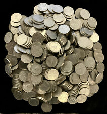 Wholesale Lot of 500 Canada - King George V Nickels