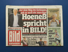 Bild Zeitung - 3.6.2014 - Uli Hoeneß * Moroslav Klose * Thomas Müller * T. Wiese