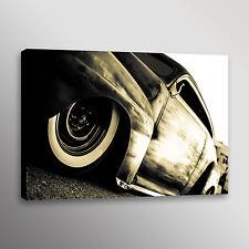 """Rat Rod Car Photo Automotive Wall Art Canvas Print 20""""x30"""""""
