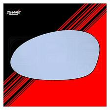 Heated Back Plate Wide Angled Mirror Glass - Summit ASRG-905BH - Fits BMW LHS