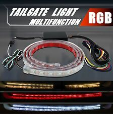 Multi-Function RGB Color Car Trunk LED Light Strip Tail Brake Sequential Signal
