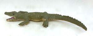 Soft Rubber Crocodiles/Alligators Play Toy Animal Model Toy Figure