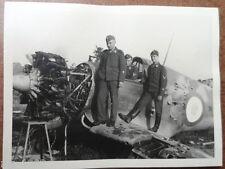 Foto Luftwaffe  französisches Jagdflugzeug  Detail  Motor