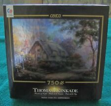 THOMAS KINKADE LOVELIGHT COTTAGE 750 PIECE PUZZLE BY CEACO SPECIAL EDITION