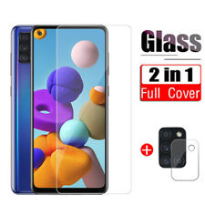 Tempered Glass Lens Protect Cover HD Screen Film For Samsung Galaxy A71 A51 A21S