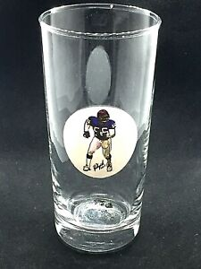 New York Giants Lawrence Taylor glass-14 oz-Classic G-Men Collectable-LT !