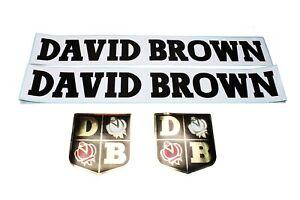 David Brown Parts Red Loader Decal Set (Large) (41374L)
